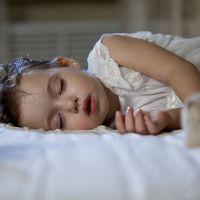 Child sleeping - World Sleep Day